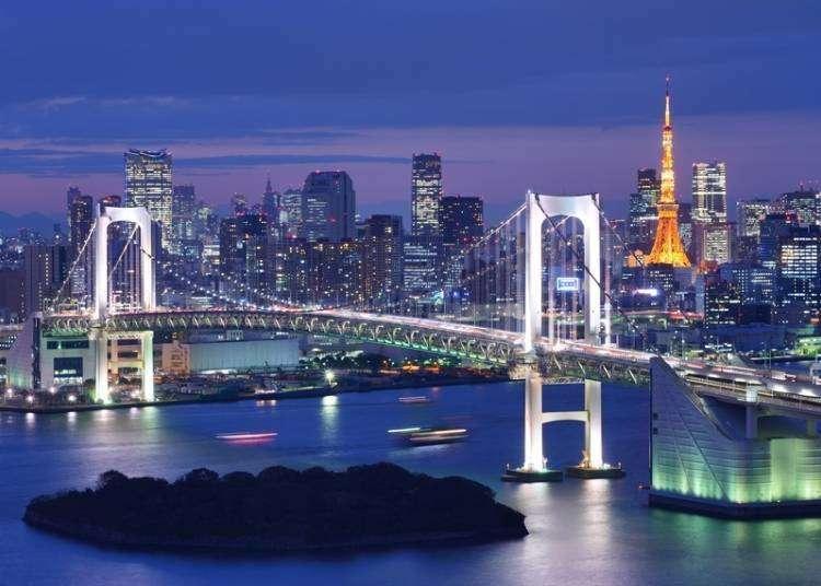 東京浪漫夜,不可錯過的五大人氣夜景景點