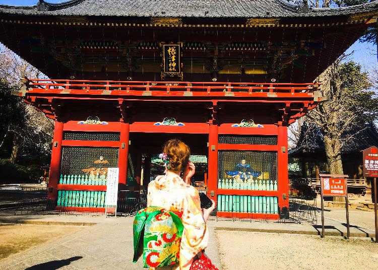 7 - Nezu Shrine