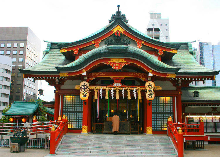 5 - Suitengu Shrine