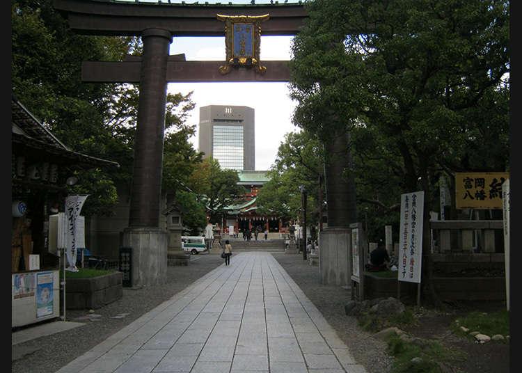 2 : Tomioka Hachimangu