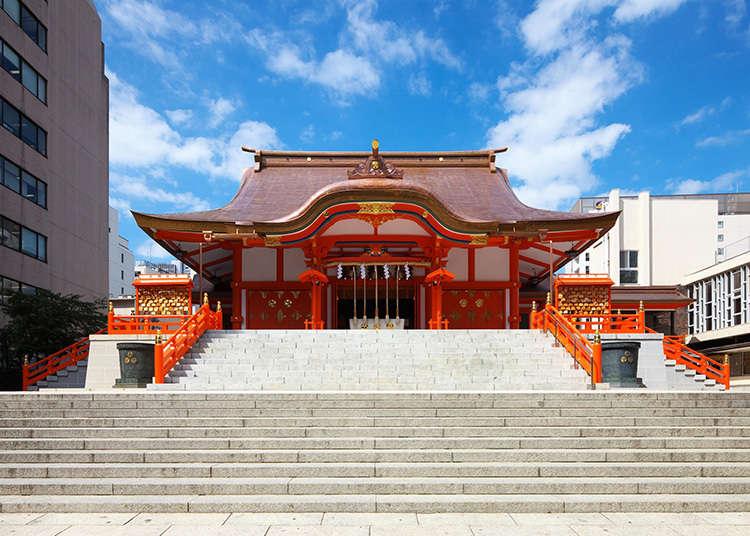 10: ศาลเจ้าฮะนะโซะโนะ (Hanazono-jinja)