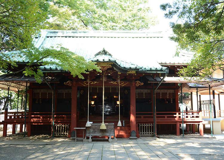 8:赤坂冰川神社
