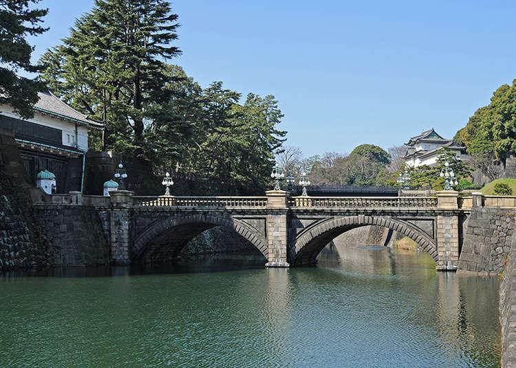 Nijyubashi (jambatan berganda) di Istana Maharaja