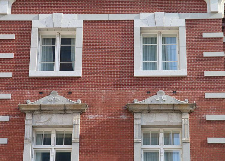 红色砖瓦的融合