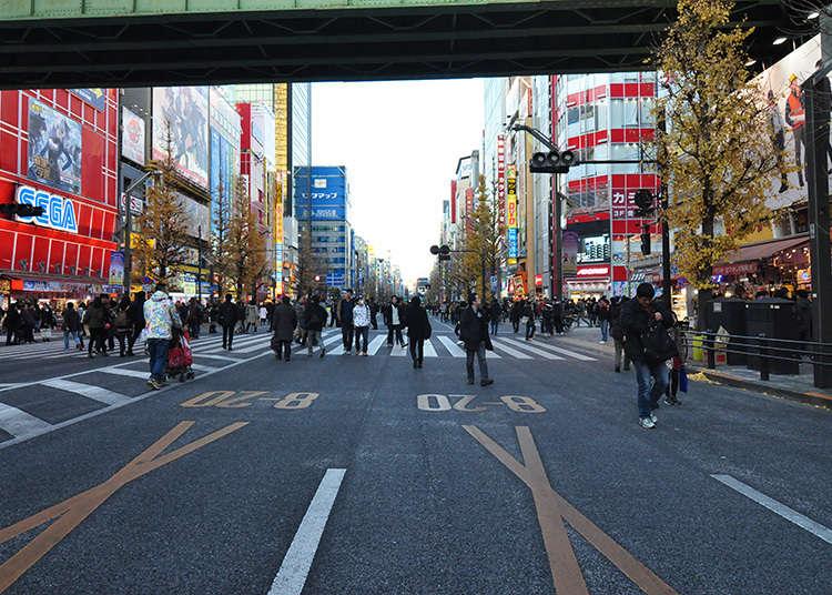 Di Sinilah Tempat Untuk Mengambil Foto Suasana Akihabara!
