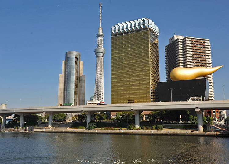Di Dekat Jembatan Azumabashi