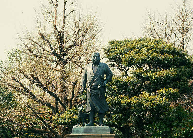1. Is that statue in Ueno Park of a famous person?