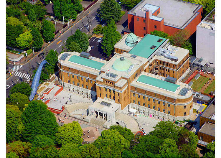 5. Why are there so many museums in Ueno?