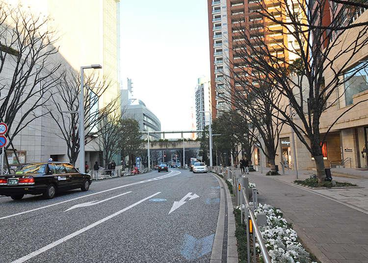 Shopping Street yang Sudah Diperbaharui