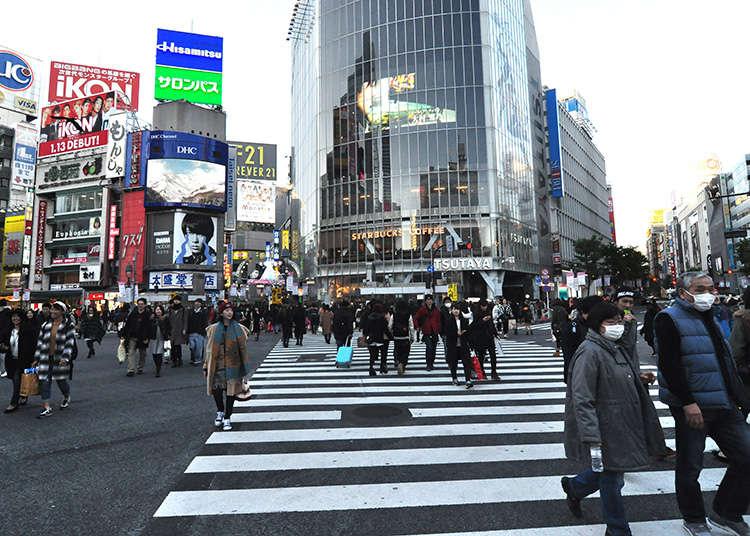 涩谷、原宿的三个拍照景点