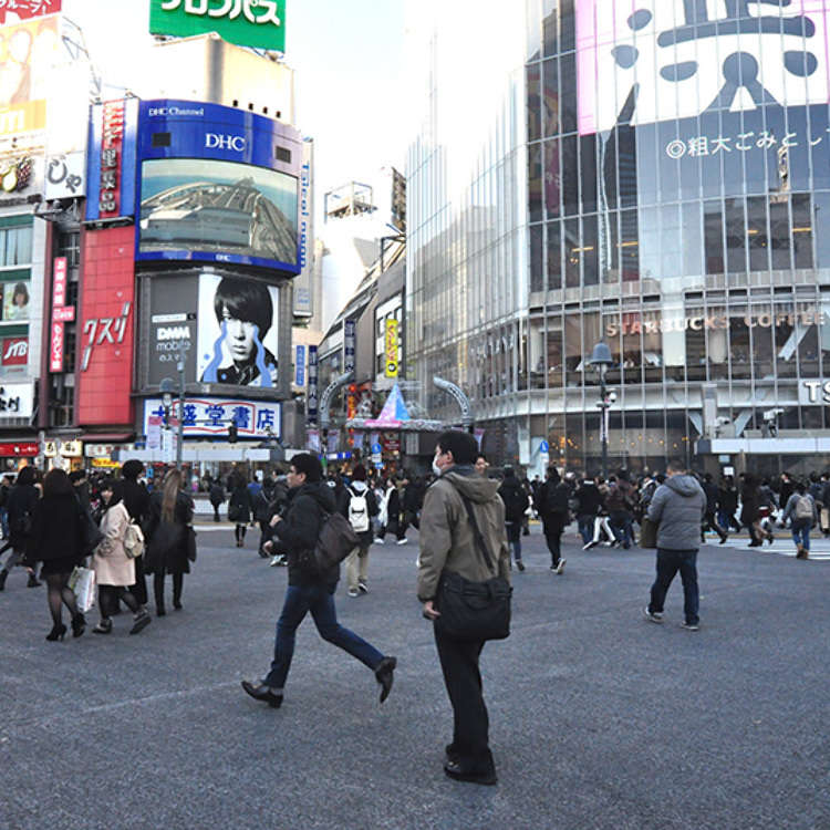 You can see the Biggest Crowds on the Street in Japan!