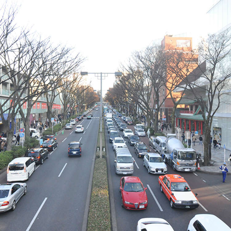 If you want to view Omotesando from above!