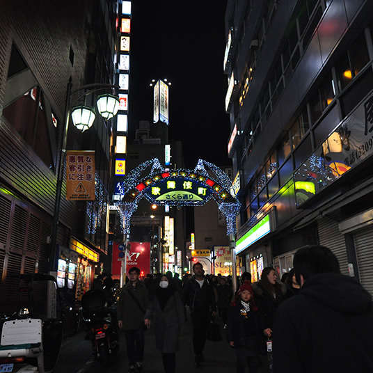 Shinjuku's Three Most Photogenic Spots