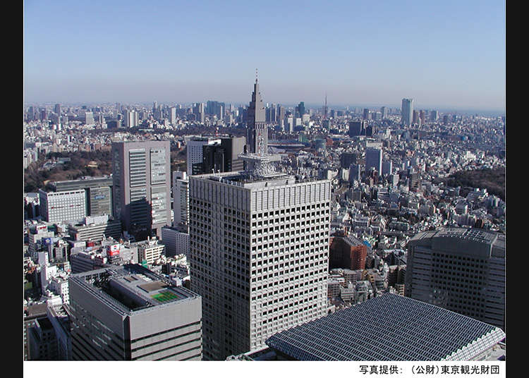 3 pilihan lokasi bangunan pencakar langit di Nishi-Shinjuku