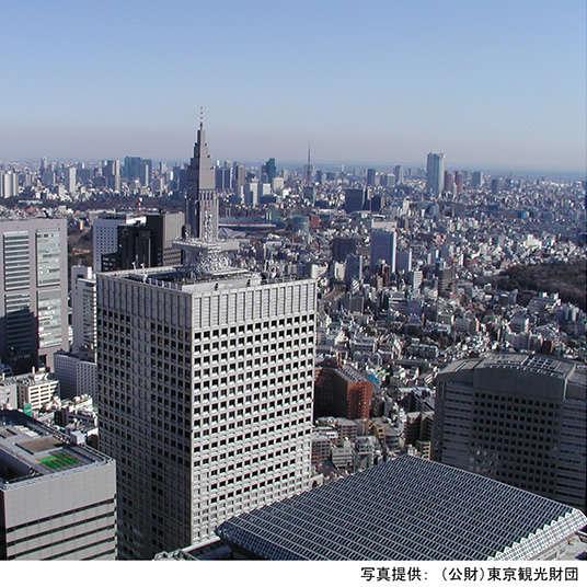 西新宿的三大高楼