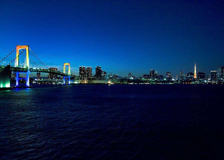 【芝浦】漫步彩虹大橋