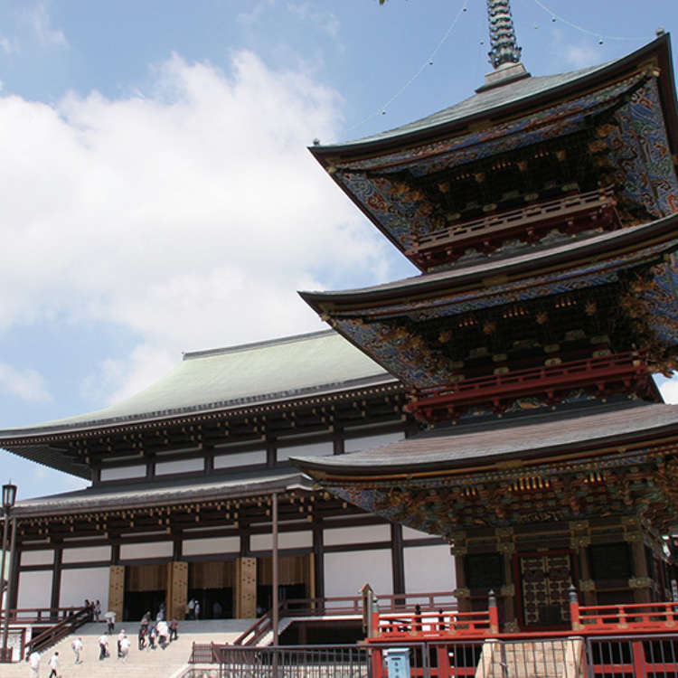 Narita's Famous Temple with a History of over a Thousand Years