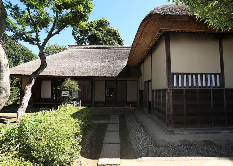 บ้านนักรบที่แสดงให้เห็นการใช้ชีวิตของซามูไรสมัยเอะโดะ