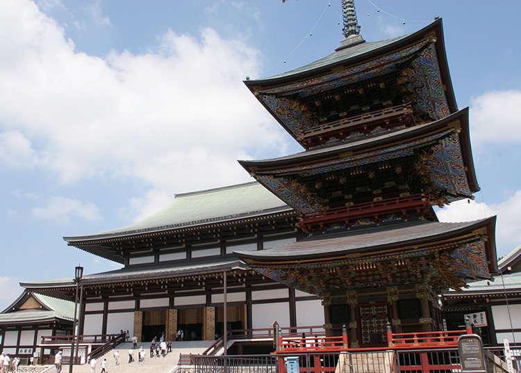 擁有千年歷史的成田隨一的寺院