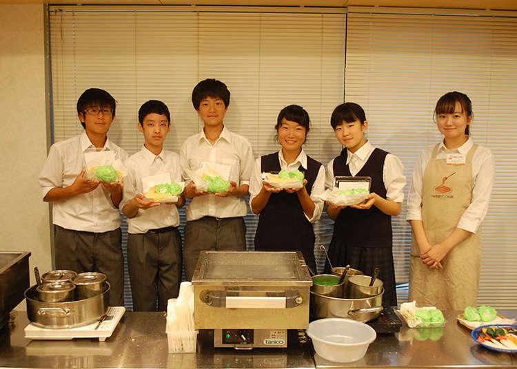 挑战一下''食品模型制作体验''