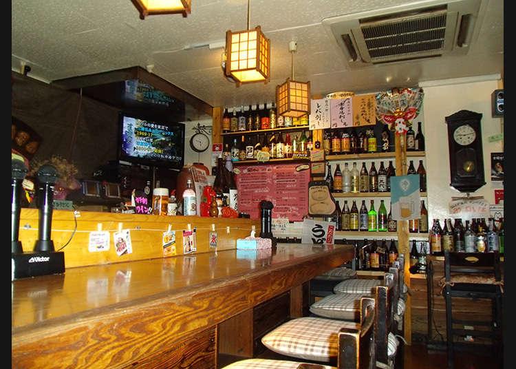 西荻窪の一風変わったカラオケ居酒屋