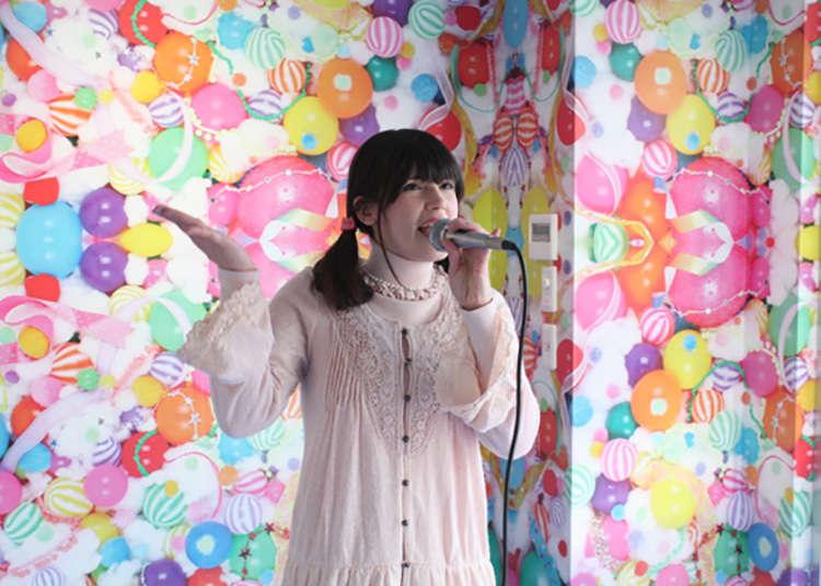 Karaoke percuma di pusat maklumat pelancong