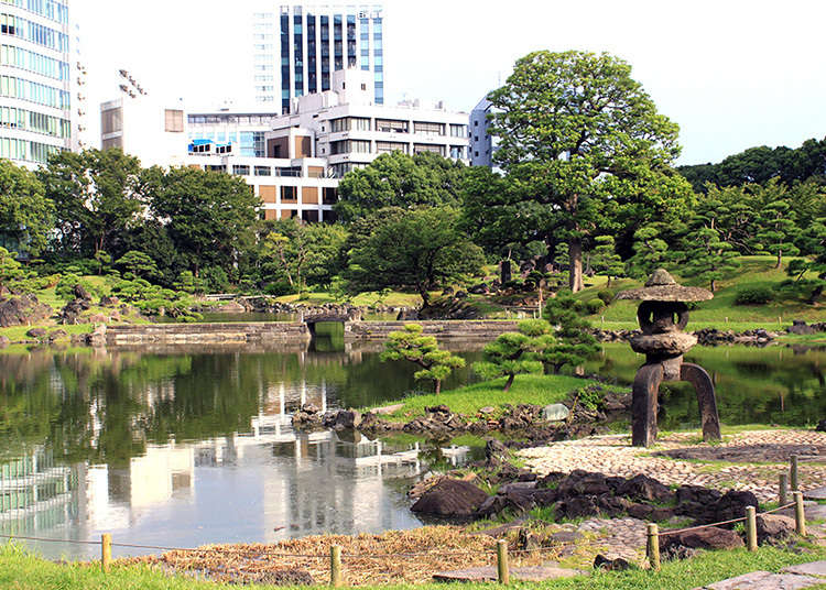 1: Kyu Shiba Rikyu Teien (สวนคิวชิบะริคิว)