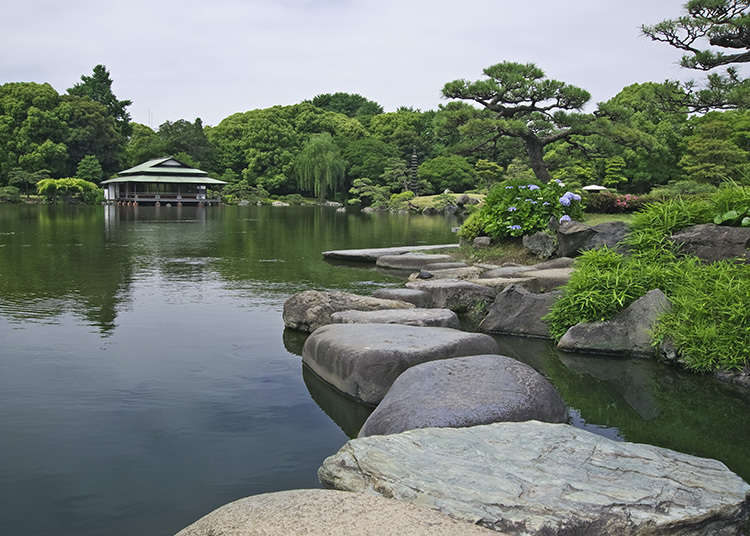 3.清澄庭园