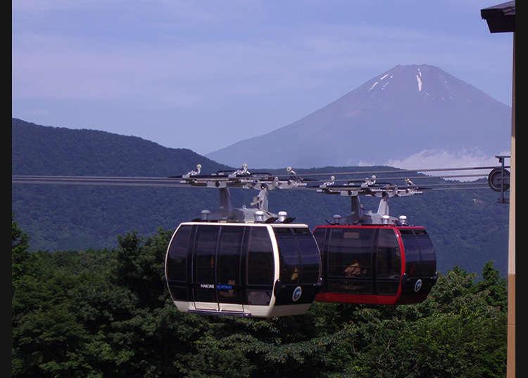 ทิวทัศน์อันสวยงามของฮาโกเนะทั้งสี่ฤดูที่มองลงมาจากด้านบน