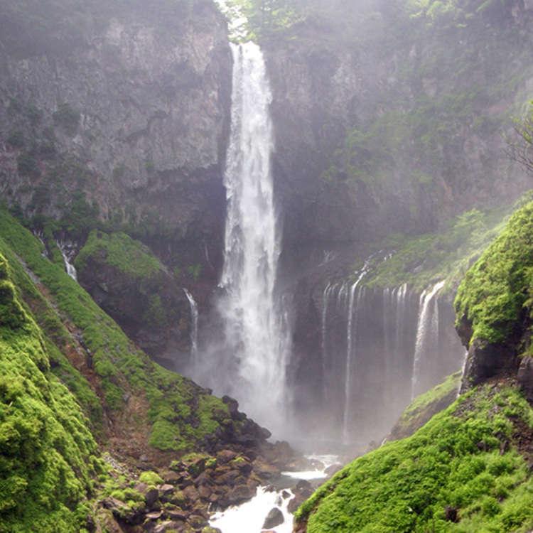 日本为数不多的落差巨大、震撼力十足的瀑布