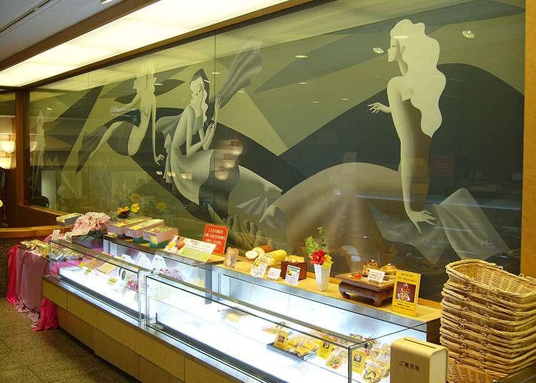 Kedai manisan ala Barat yang mengasaskan Mont Blanc yang popular di seluruh Jepun.