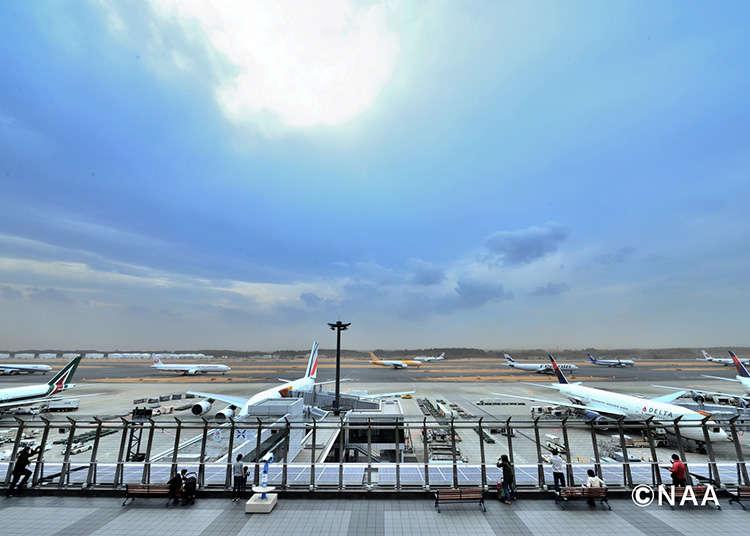在成田国际机场也能过得充实