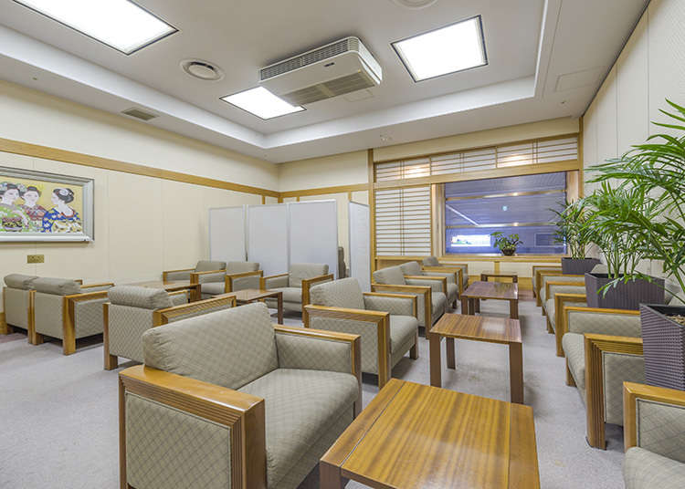 'Rush Run' Traveler's Lounge yang Bebas Dipakai