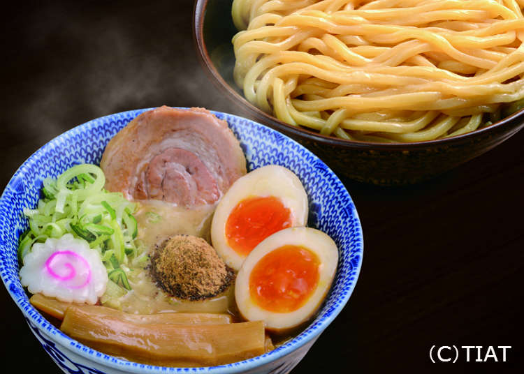 東京的熱門拉麵店「六厘舍」