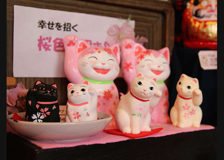 Yanaka is Known for Cats! Purchase an Array of Cat Paraphernalia