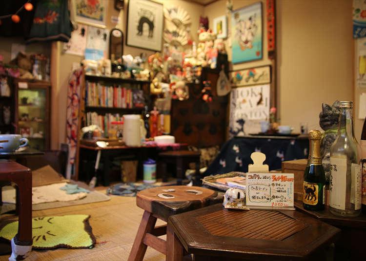 在古民家咖啡廳中感受暖呼呼的日本風情