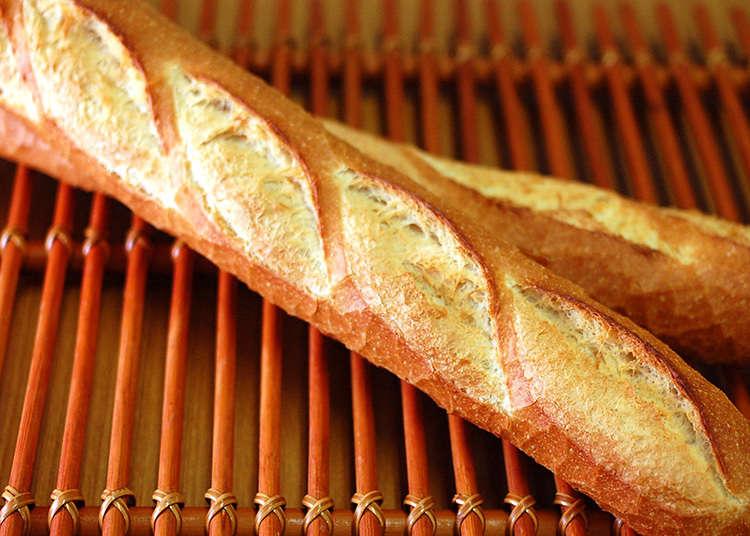 日本賣有正統法國麵包的麵包店