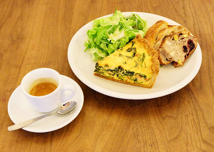 Enjoy a rich and delicious quiche