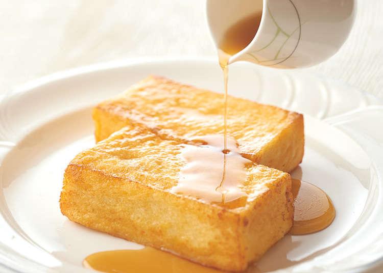 松软的法式吐司面包