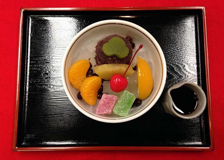 昭和初期的甜点至今仍很受欢迎