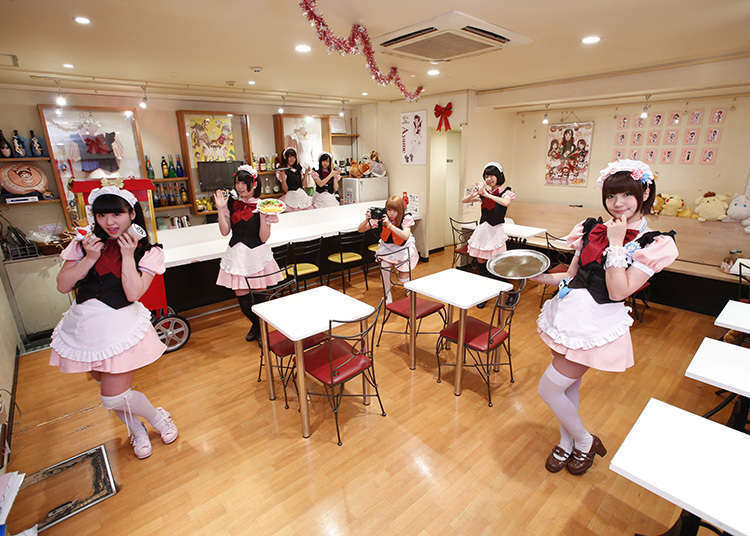 Visiting a Variety of Maid Cafes in Japan