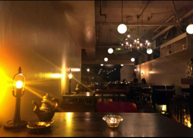 長めのランチタイムが好評の人気カフェ