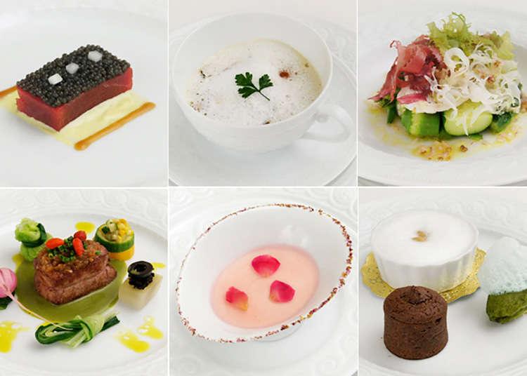 Masakan Perancis rendah lemak (mikuni MARUNOUCHI)