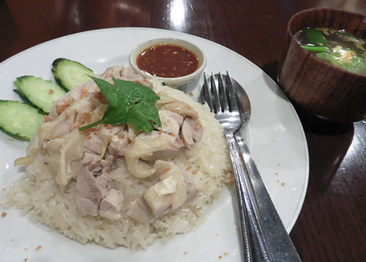 Extremely delicious Khao Man Gai (Thai chicken rice) in Tokyo