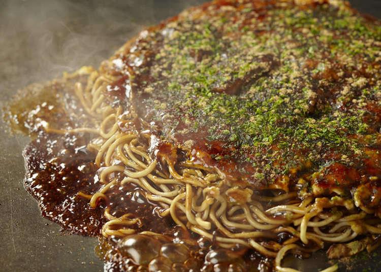 4. Monjya okonomiyaki hachijyu
