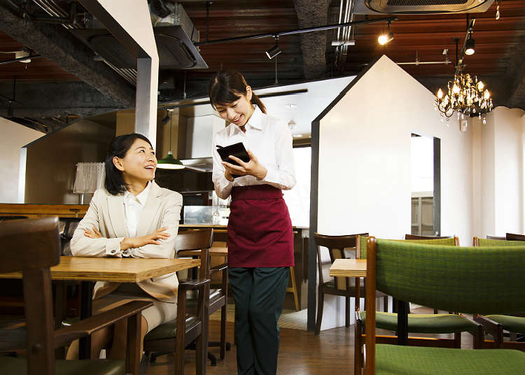 Restaurants loved by Japanese people