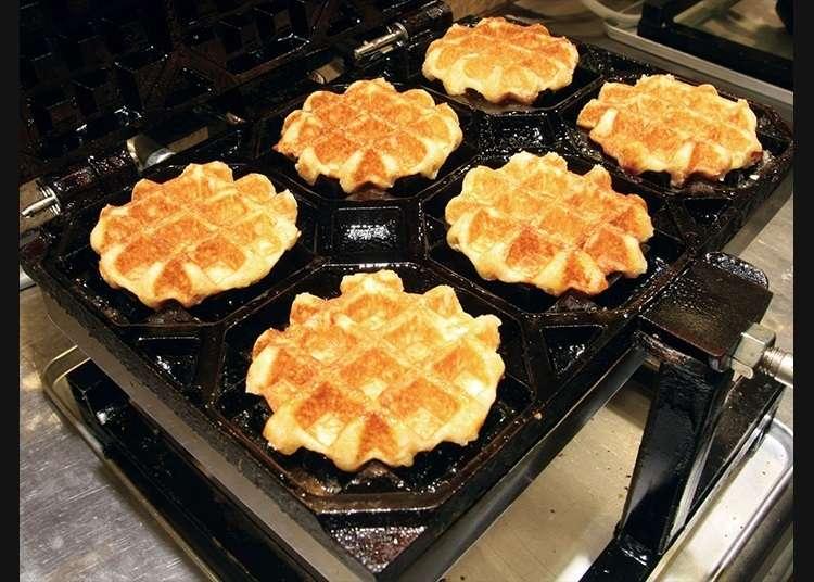 Waffle yang Cocok untuk Dimakan Sambil Berjalan