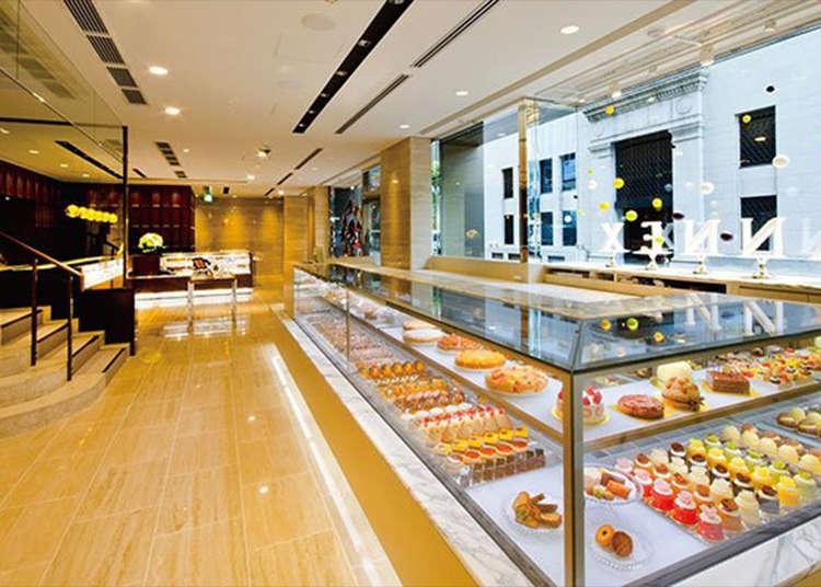 高級「蛋糕&巧克力店」