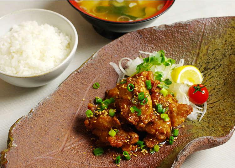 Gaba Omusubi (bebola nasi) menggunakan beras istimewa