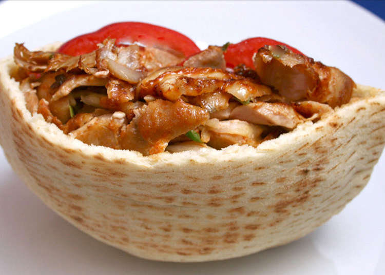 在土耳其烤肉激战区!?品尝